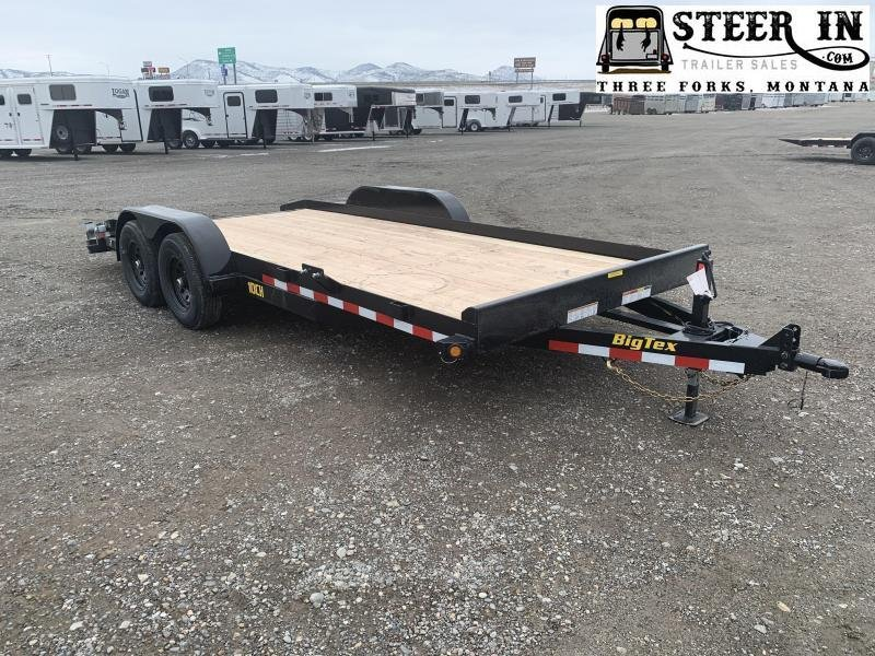 2021 Big Tex 10CH - 18' Equipment Trailer
