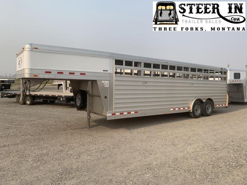 2012 4-Star 24' DEMO Stock/Livestock Trailer