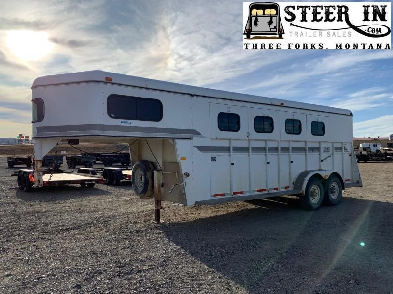 1997 Logan 20' Stock/Combo Livestock Trailer