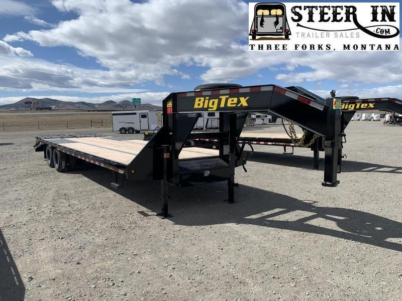 2021 Big Tex 22GN 30' (25+5) Flatbed Trailer
