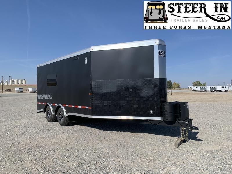 """2020 Logan Coach Horsepower 22"""" BP Snowmobile Trailer"""