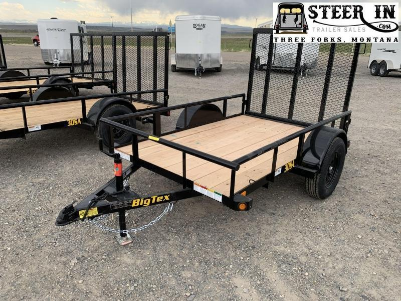 2021 Big Tex 30SA - 5X8'  Utility Trailer