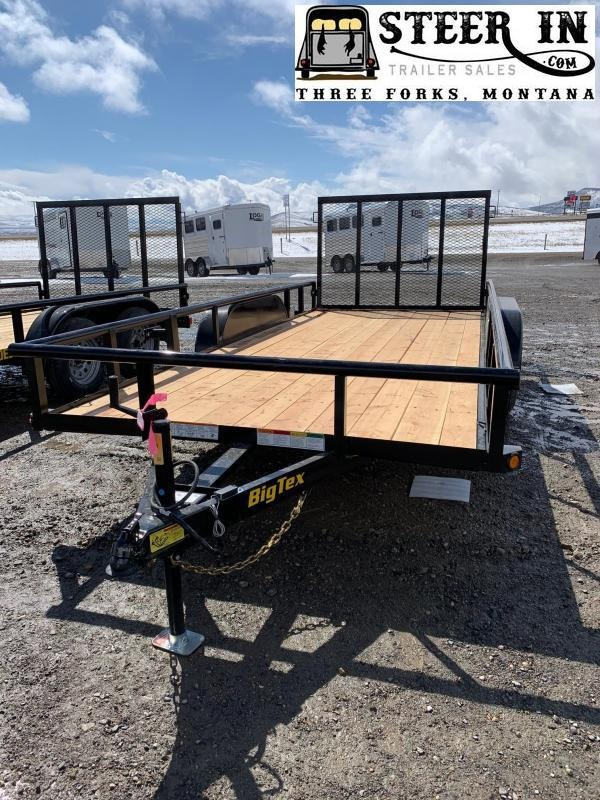 2021 Big Tex 60ES 16' Utility Trailer