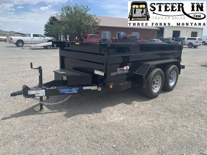 2021 Top Hat 5x10' DP 70 Dump Trailer