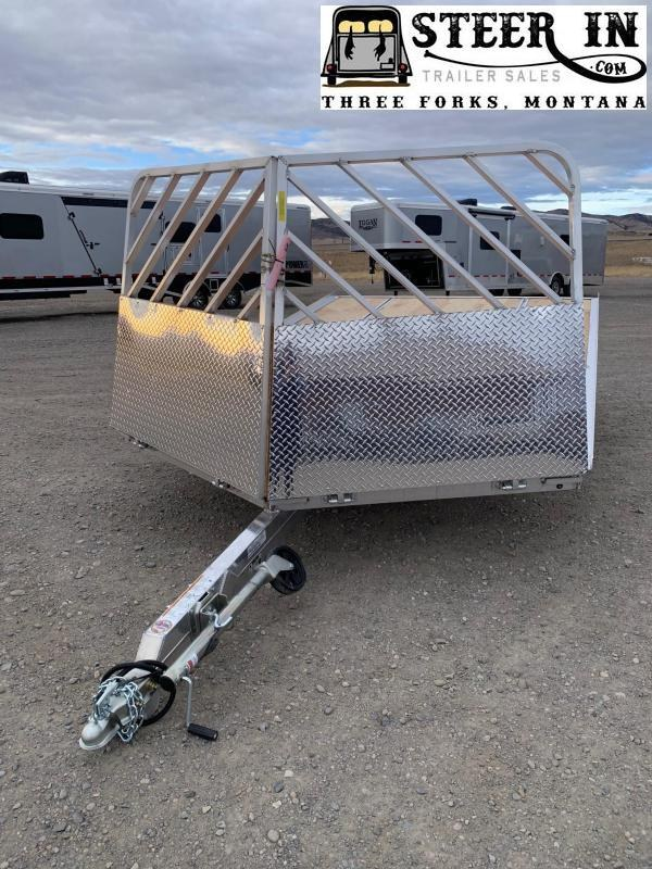 2021 Mission MFS101X12LV Snowmobile Trailer