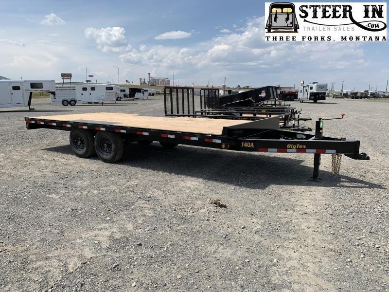 2021 Big Tex 14OA 20' Equipment Trailer