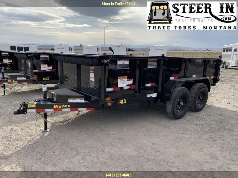 2021 Big Tex 14LX 7x14' Dump Trailer