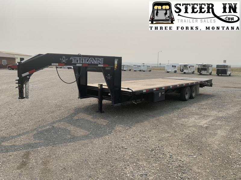 2018 Titan 26' (20+6) Flatbed Trailer
