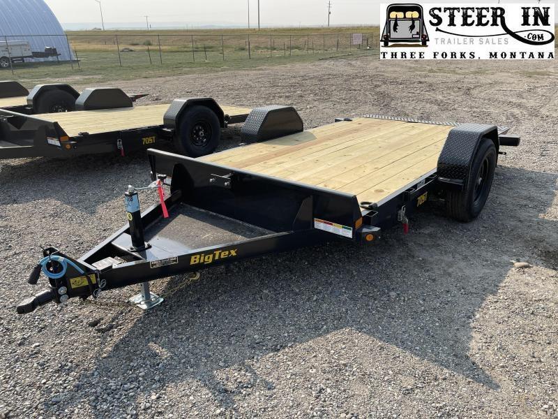 2022 Big Tex 70ST 13' Equipment Trailer