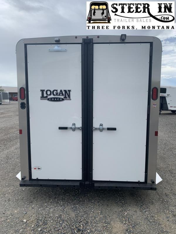 2020 Logan Bullseye 3H BP Horse Trailer