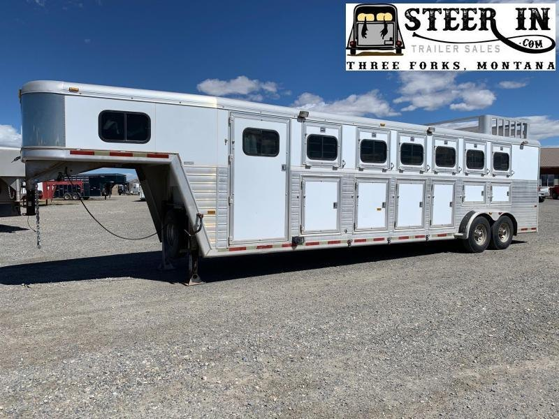 1999 Hart Trailers 6H GN Horse Trailer