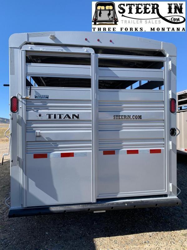 2021 Titan 24' Standard Livestock Trailer