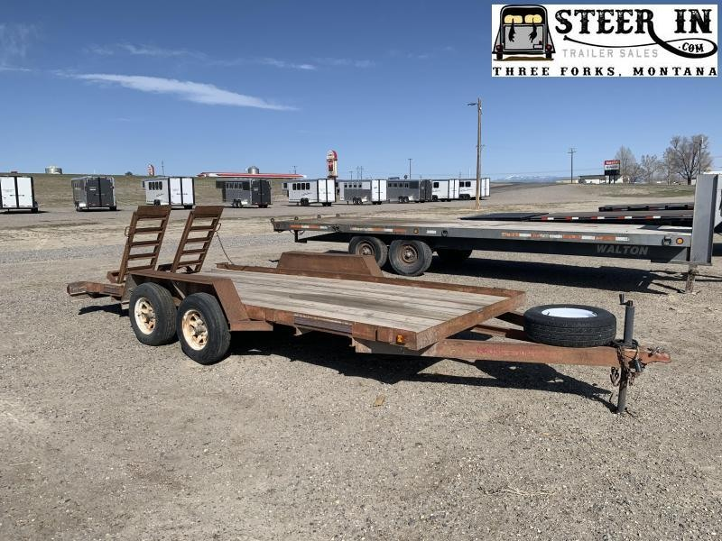 1994 Towmaster 14' Equipment Trailer