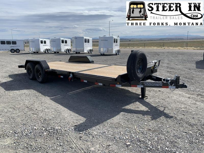 2021 Titan Trailers TILT DECK Equipment Trailer
