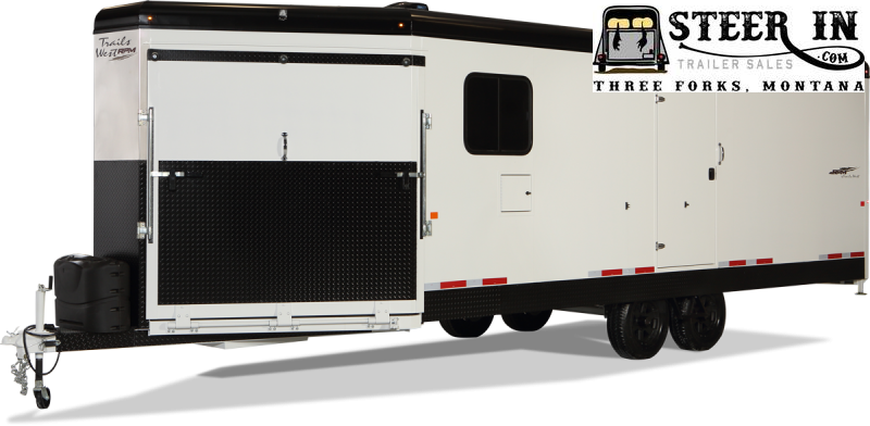2022 Trails West RPM 20' Burandt Bumper Pull Snowmobile Trailer