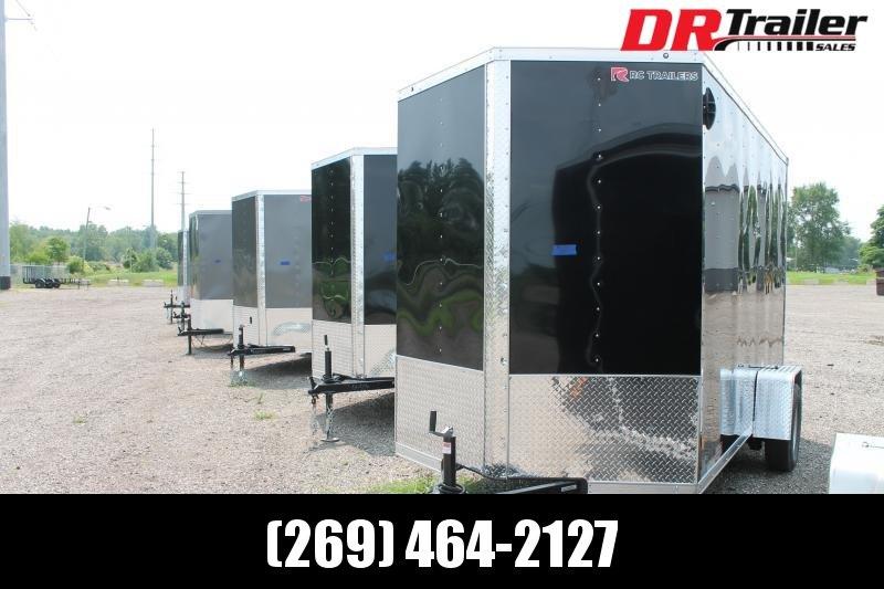 "2020 RC Trailers 6' X 12' + 12"" RD ENCLOSED TRAILER Enclosed Cargo Trailer"