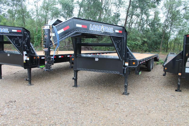2022 Load Trail 28' 14K GVWR GOOSENECK MR TRAILER Equipment Trailer