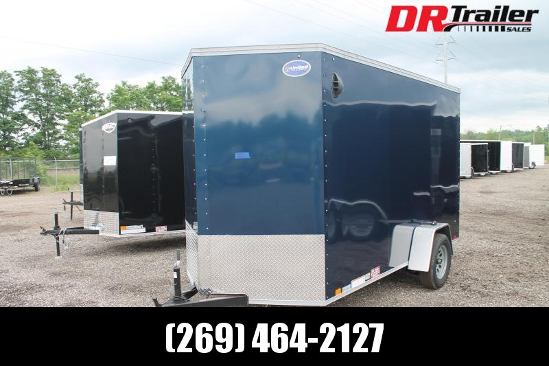 """2022 United Trailers 6' X 12' + 12"""" RD Enclosed Cargo Trailer"""