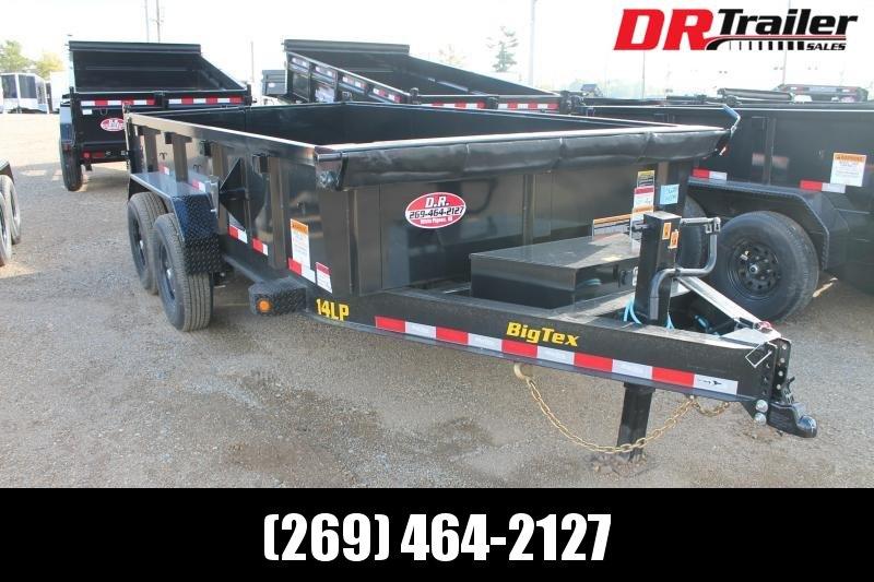 2022 Big Tex Trailers 14' DL 14K GVWR DUMP TRAILER Dump Trailer