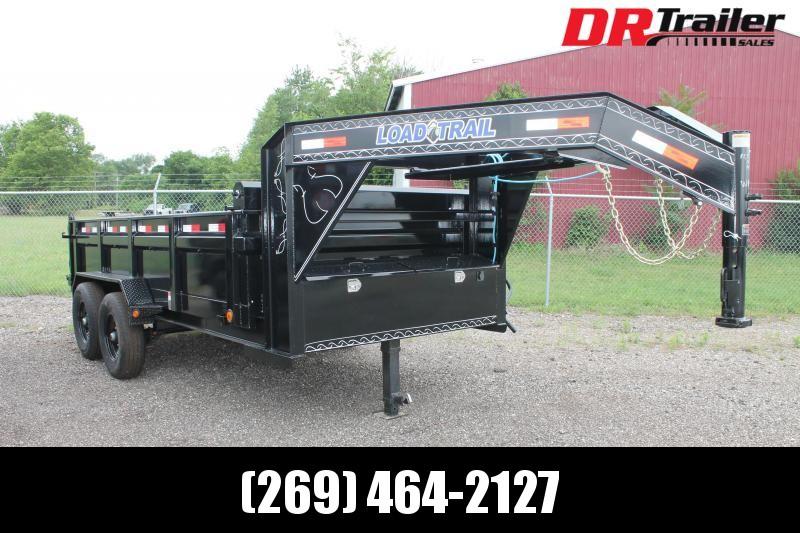 2021 Load Trail 7' X 14' 14K GVWR GN Dump Trailer