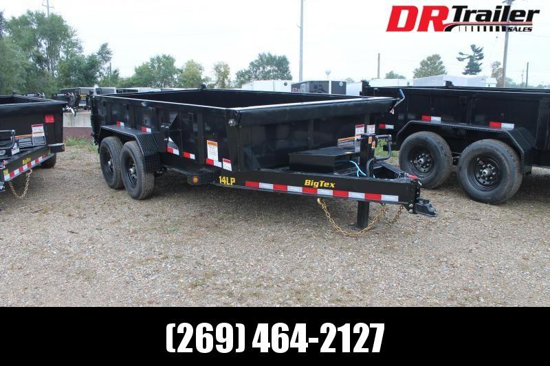 2022 Big Tex Trailers 14' 14K GVWR DL DUMP TRAILER Dump Trailer