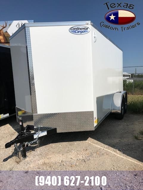 2021 Continental Cargo 7'X14' COMMERCIAL ALL STEEL Enclosed Cargo Trailer