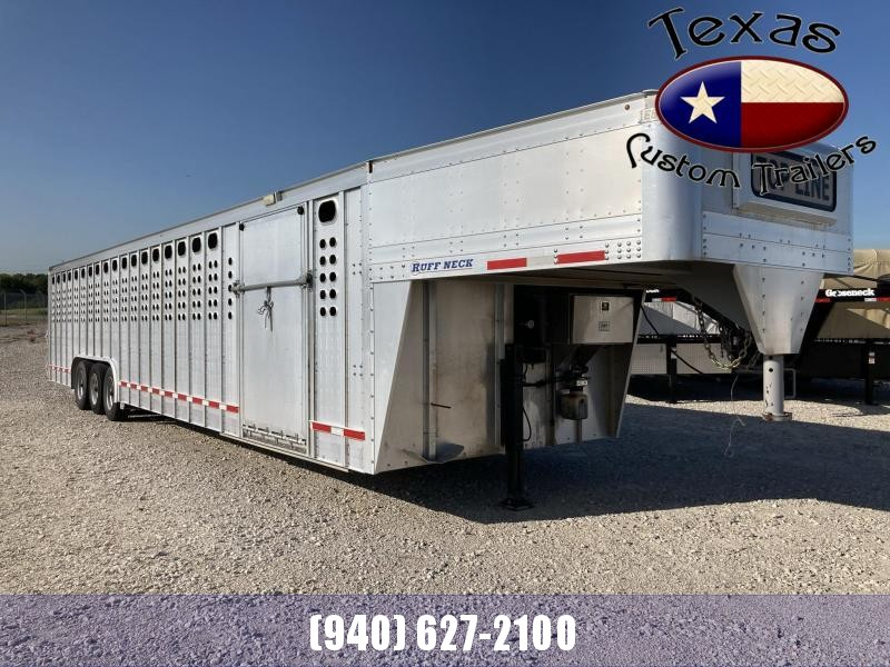 Used 2015 EBY Ruff Neck Livestock Trailer