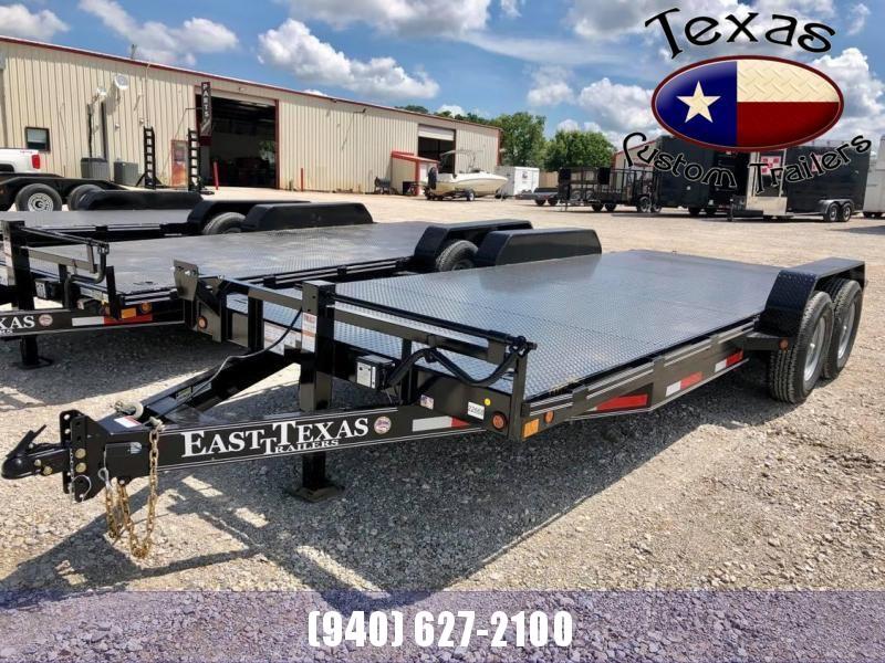 "2021 East Texas 83""x20' Equipment/Car Hauler 14K Trailer"
