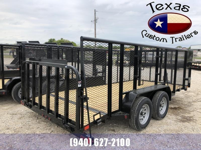 "2021 East Texas 83""x16' Landscape 7K Utility Trailer"