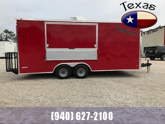 2021 Freedom Trailers 8.5'x20' Concession Trailer