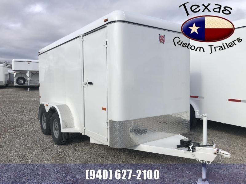 2021 W-W Trailer 14'X6' Cargo Carrier Enclosed