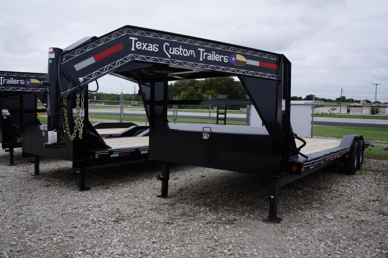 "2020 East Texas 102""X24' 14K GN Lowboy Equipment Trailer"