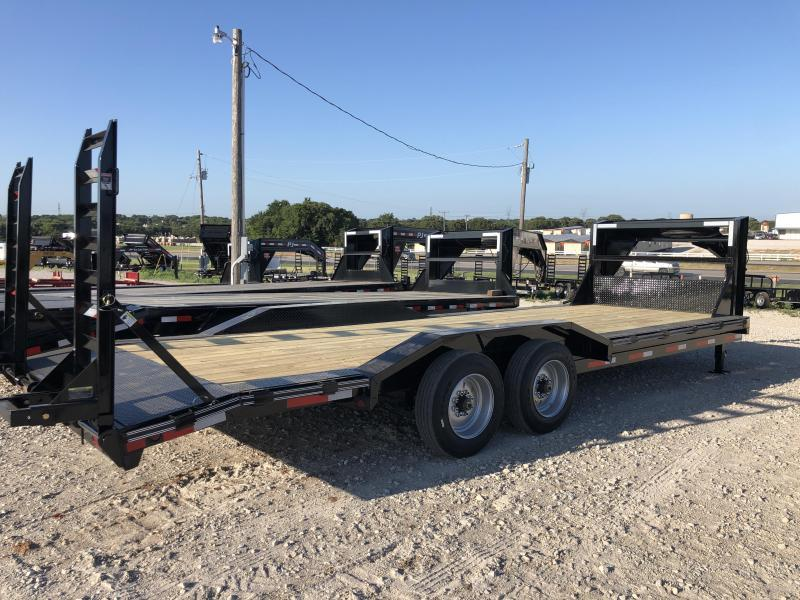 "2020 East Texas 102""X24' Gooseneck Low Boy 16K Equipment Utility Trailer"