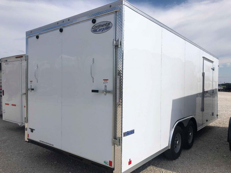 2020 Continental Cargo 8.5'x20' V-Series Enclosed Cargo Trailer
