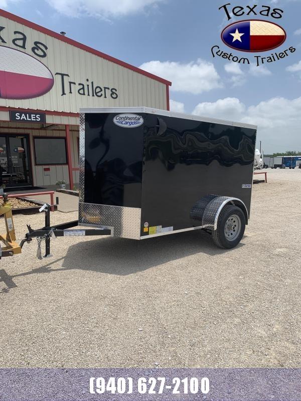 2021 Continental Cargo 5'X8' Enclosed Cargo Trailer