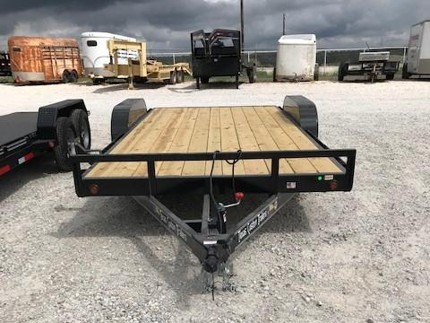 "2020 East Texas 83""x18' 7K Car Hauler/ Equipment Trailer"