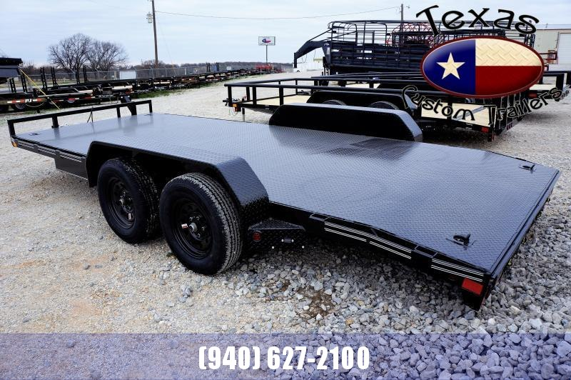 2021 East Texas 83X18 Car Hauler 7K Trailer