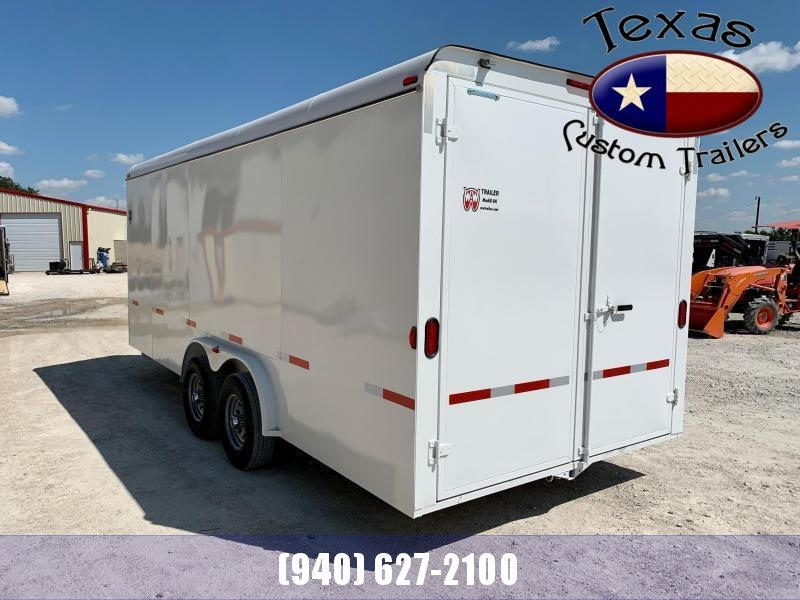 2022 W-W Trailer CC 20x8 Enclosed Cargo Trailer