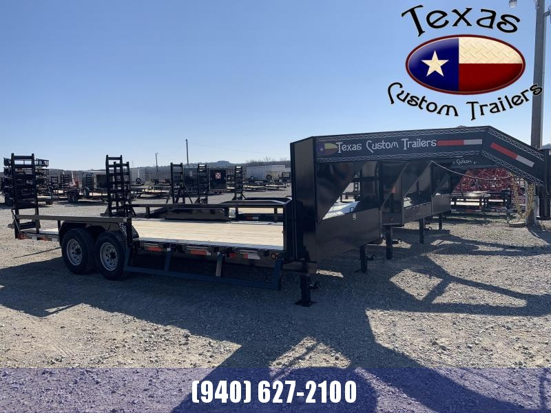 "2021 East Texas 102""X20' 14K GN Lowboy Flatbed/Equipment Trailer"