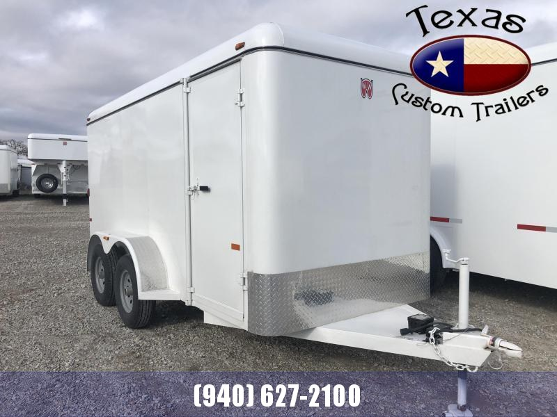 "2021 W-W Trailer 14'X6'8"" Cargo Carrier with Rear Ramp Door"