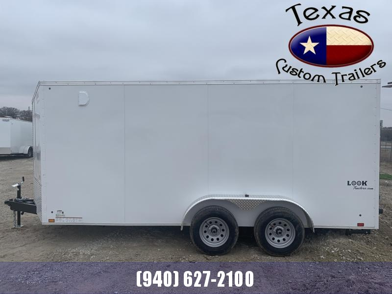 2022 Look Trailers 7'X16' Enclosed Cargo Trailer