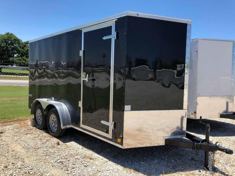 2020 Continental Cargo 14'X7' Enclosed Cargo Trailer
