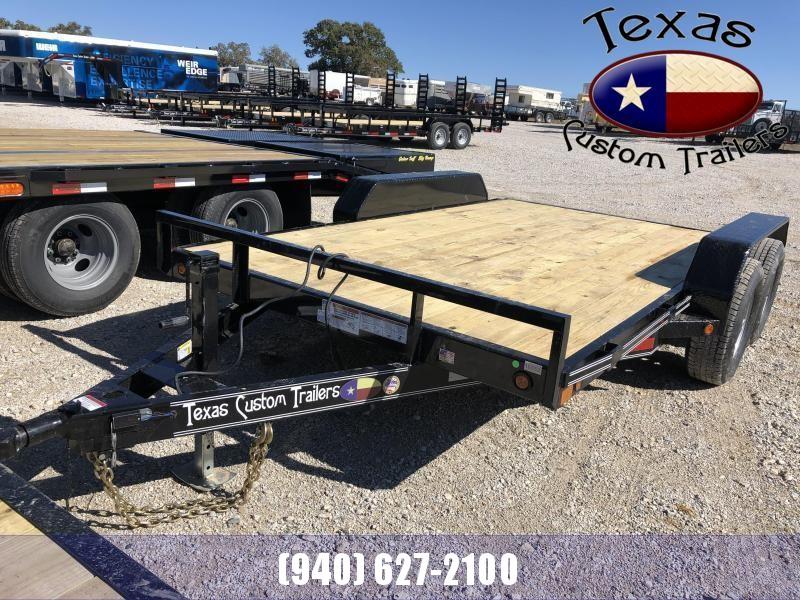 "2021 East Texas 83""X12' 12K Utility/Equipment Trailer"