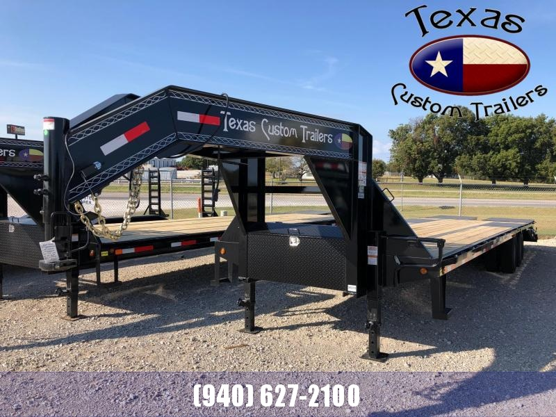 """2021 East Texas 102""""X32' GN HD Deck Over 20K Flatbed/Equipment Trailer"""