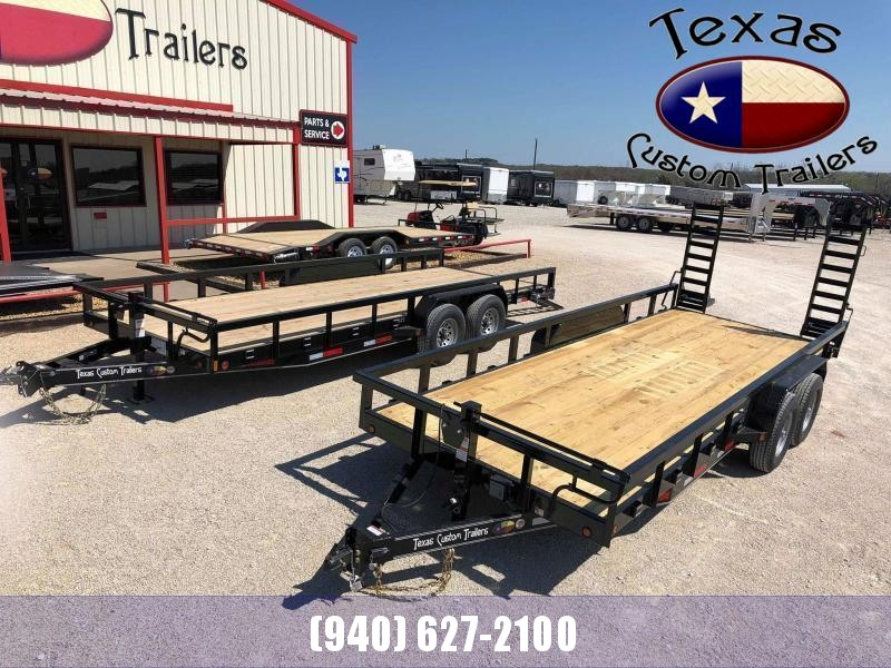 "2021 East Texas 83""X20' Utility/Equipment 14K Trailer"