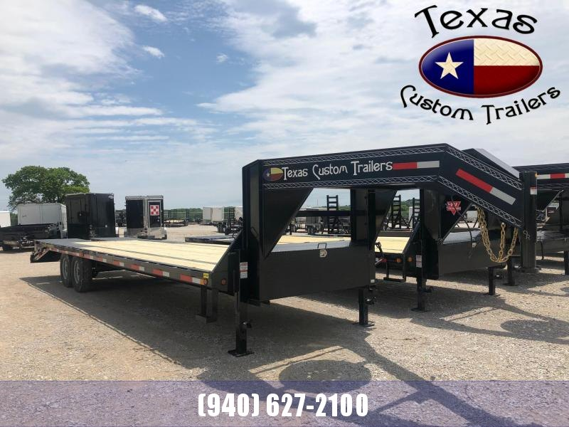 "2021 East Texas 102""X30' GN HD Deck Over 14K Flatbed/Equipment Trailer"