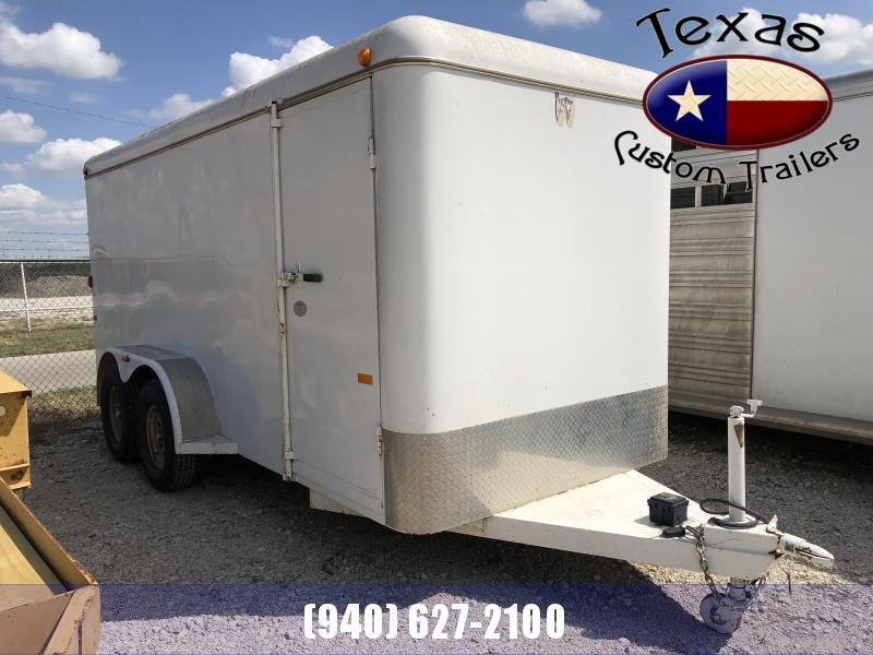 2008 W-W USED Cargo Carrier 16x6 Enclosed Cargo Trailer