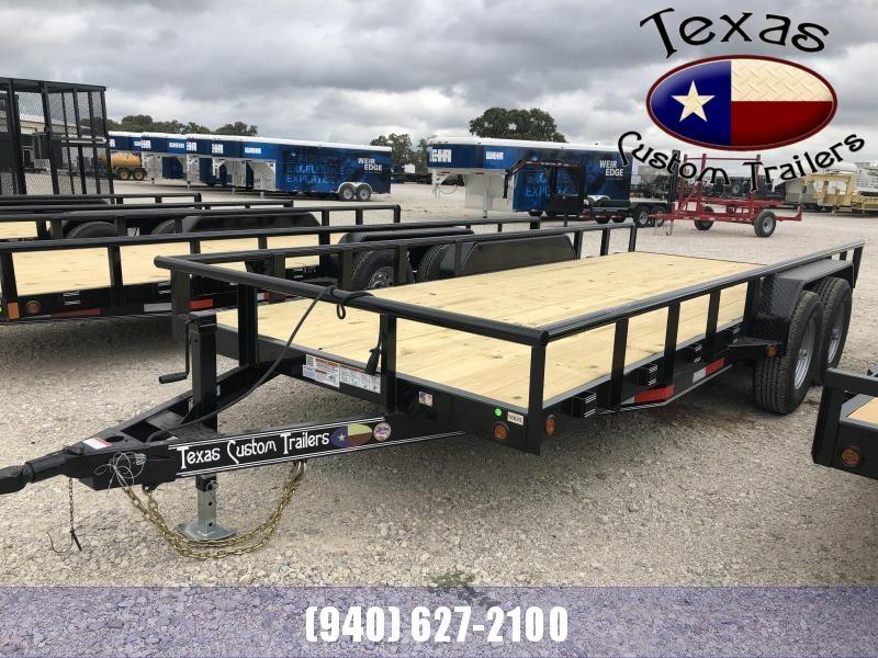 "2020 East Texas 83"" X 18'  12K Utility Trailer"
