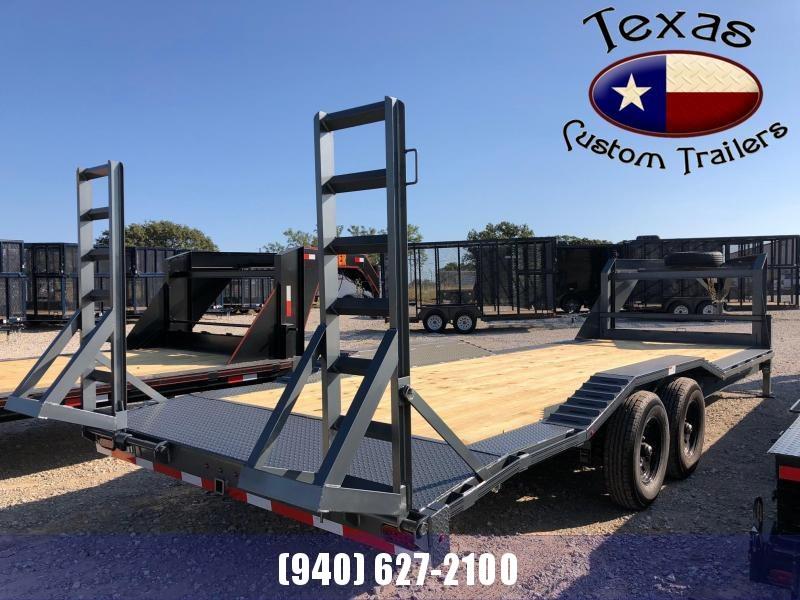 "2022 Rockin' S 102""X24' GN LB 14K Flatbed/Equipment Trailer"