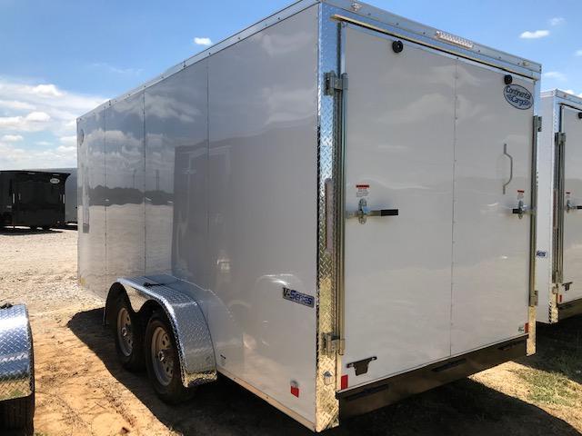 2021 Continental Cargo 7'x14' E/V-Series Enclosed Cargo Trailer